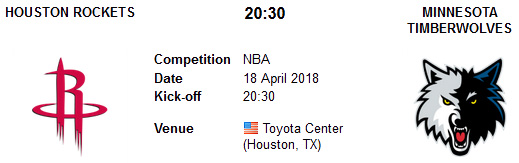 Houston Rockets vs Minnesota Timberwolves en VIVO