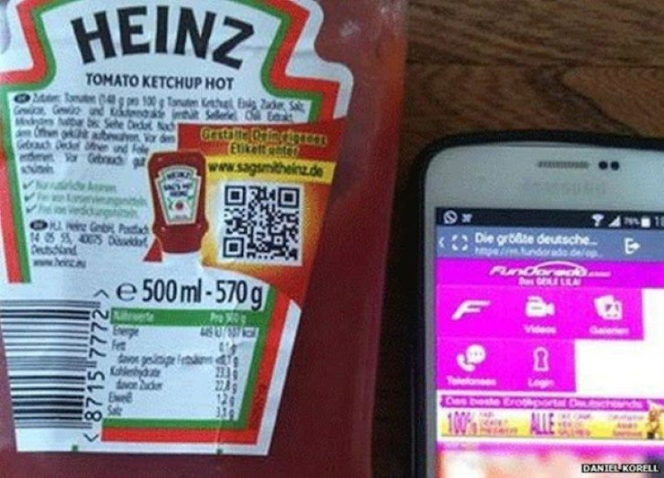 Código QR de Heinz - Grandes fracasos de marketing