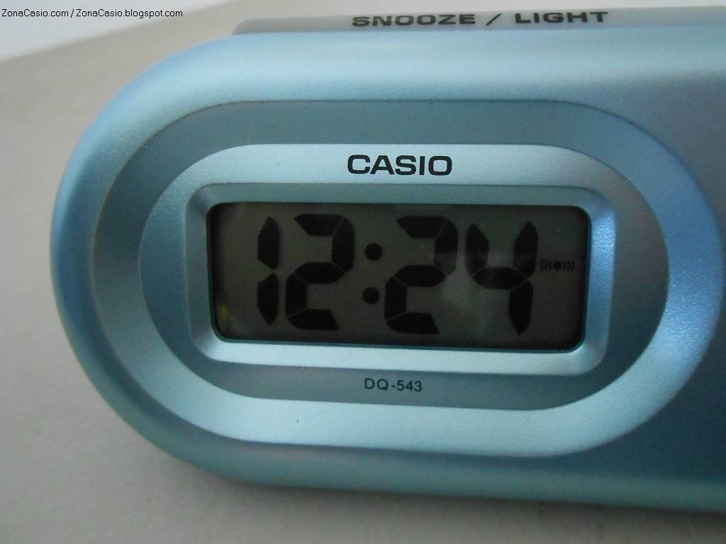 65468e46515a Zona Casio  Prueba  reloj despertador Casio DQ-543
