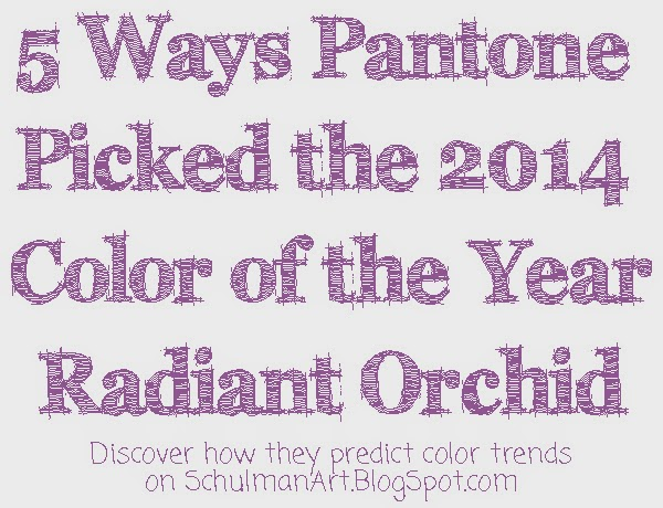 pantone color of the year | radiant orchid | 2014 color trends