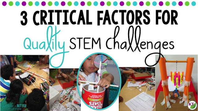3 Critical Factors for Quality STEM Challenges