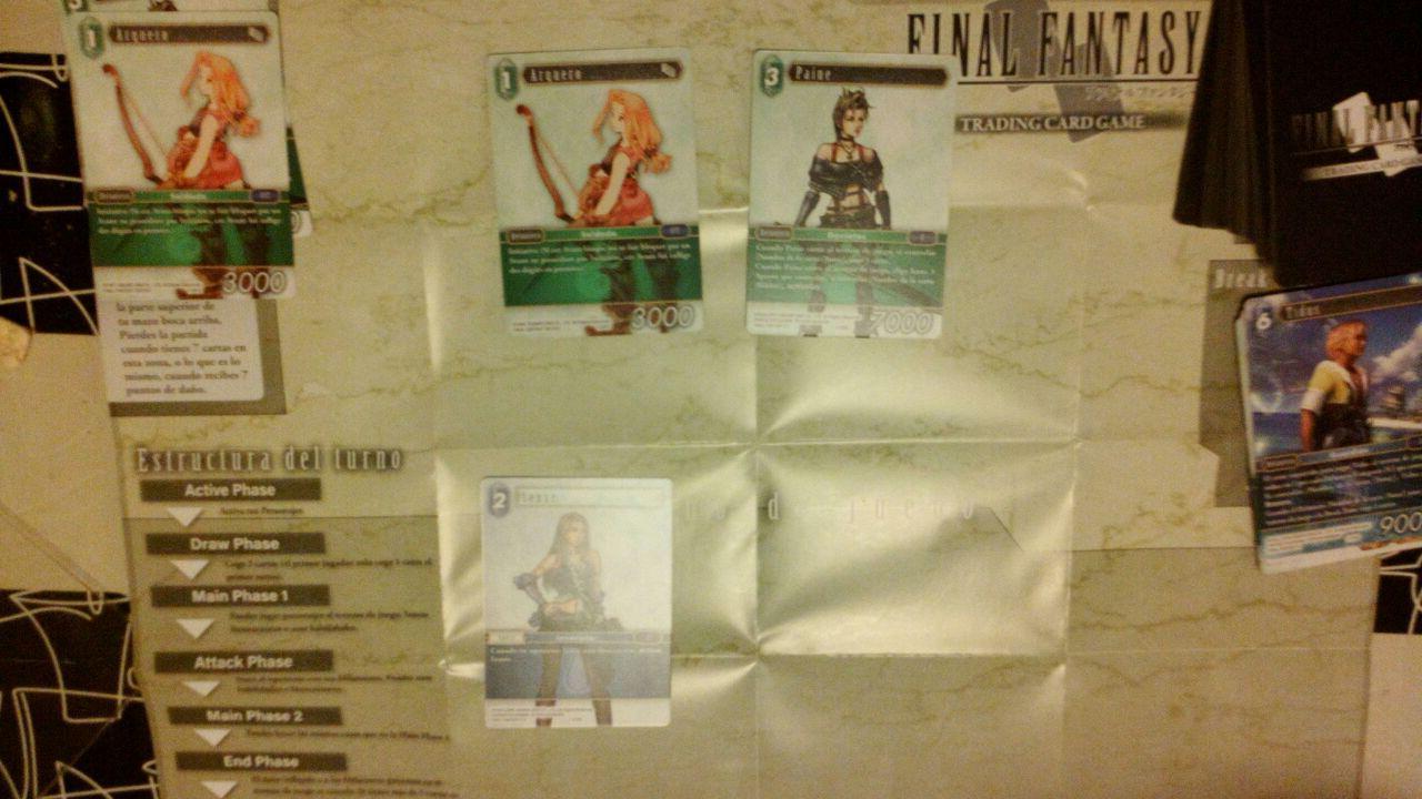 El Crítico Blanco: [Reseña] Final Fantasy: Juego de Cartas ...