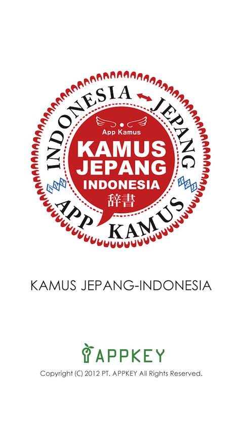 kamus bahasa jepang indonesia