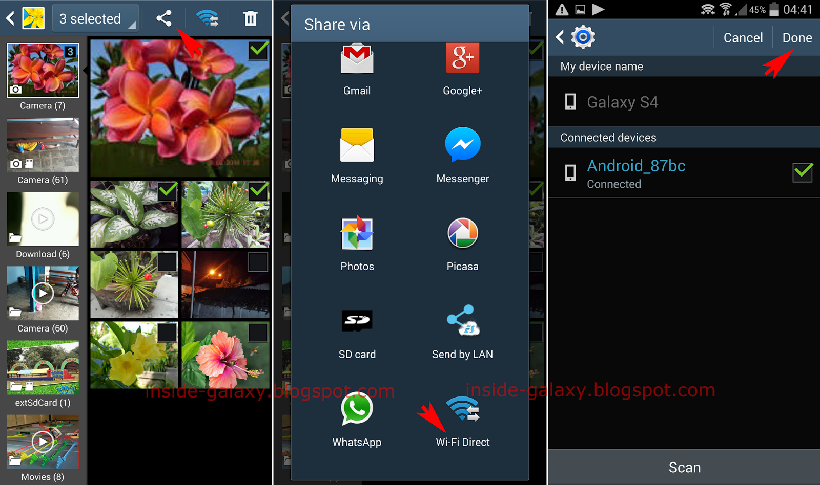 Samsung Galaxy S4: How to Enable and Use Wi-Fi Direct Feature to