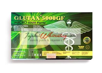 Glutax 5000GF Micro 5000 Forte, Glutax 5000GF, Glutax 5000GF Micro, Glutax 5000GF Harga Murah, Glutax 5000GF Injeksi Whitening