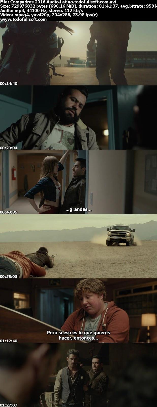 Compadres 2016 DVDrip (Español Latino)