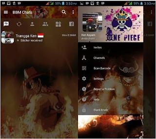 BBM MOD One Piece V3.2.0.6 Apk