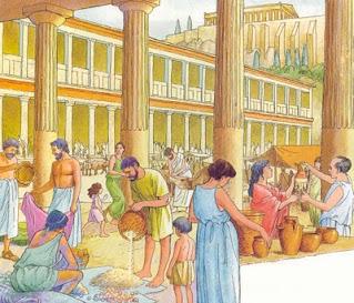 riassunto per la scuola sulla storia della polis di Atene