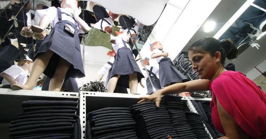 AÑO ESCOLAR 2020: Con menos de S/ 40 se puede adquirir uniforme escolar en Gamarra