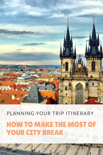 planning your trip itinerary
