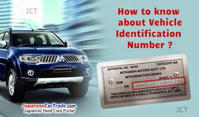 Japanese Used Cars How To Know About Vehicle Identification Number