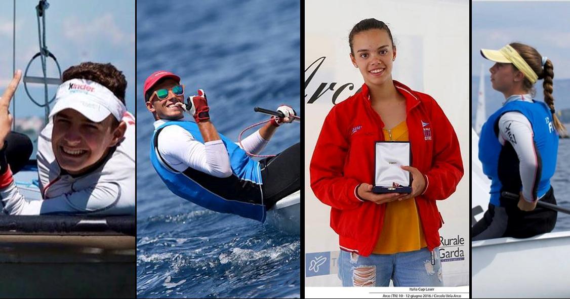Gli atleti del circolo della vela mestre in partenza per il campionato italiano classi olimpiche 2016