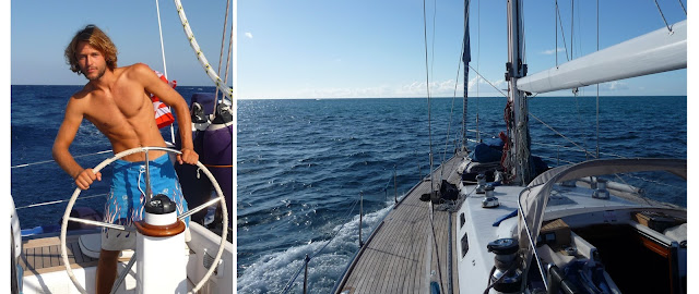 Sailing throught Caribbean Sea, Curacao Island and Christmas in Panama Canal