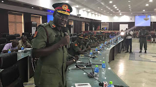 Nrws: Buratai reveals Nigeria Army's plan for 2018