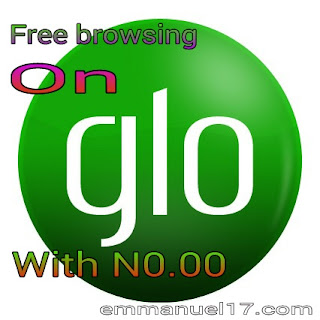 Free browsing on Glo with N0.00