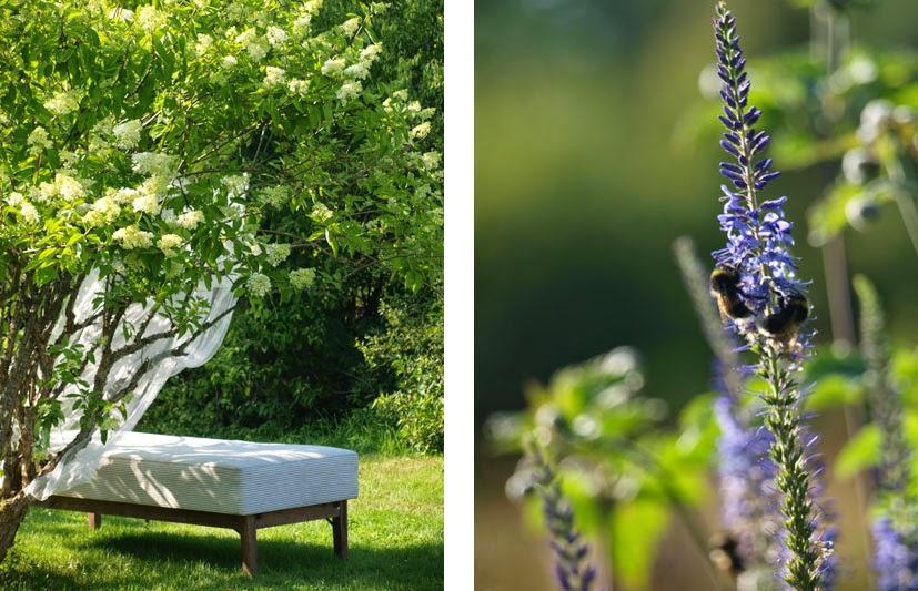 Lav en seng udenfor og nyd haven fuldt ud