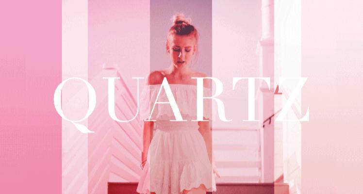 Quartz Display free font preview