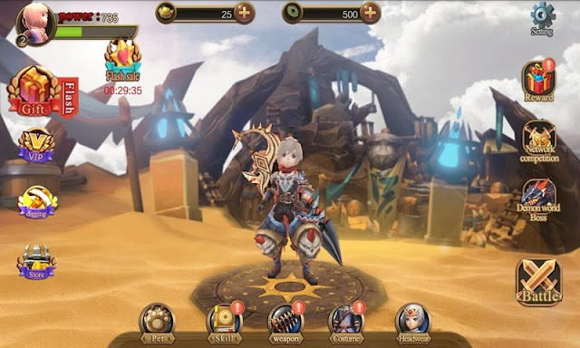 Demon hunter – may be a 3D action act game, it's given flamboyant frames, awe-inspiring battle et al identifying options.   Description: Demon Hunter v1.07 APK Free Download  Demon hunter – may be a 3D action act game, it's given flamboyant frames, awe-inspiring battle et al identifying options. The story of the sport is regarding, when the foremost precious treasure within the realm of Chaos — Necronomicon is taken. The player, as Demon hunter, all the way down to the Mayas land to fight with the demons and take it back. SCREENSHOT'S      DOWNLOAD APK(49 MB) MIRROR APK(49MB)