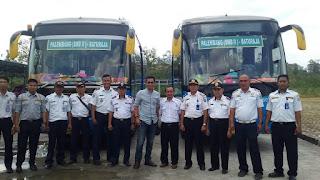 Launching PO Damri Rute Baturaja - Bandara Sultan Mahmud Badarudin II