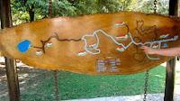 Mapa do Parque Estadual da Cantareira em São Paulo