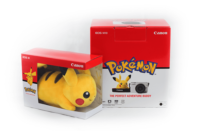 Canon EOS M10 Pikachu Bundle Announced