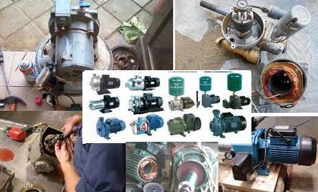 Jasa Service Pompa Air untuk area Bantul, Yogyakarta, Kulon Progo, Sleman dan Gunung Kidul Area Barat