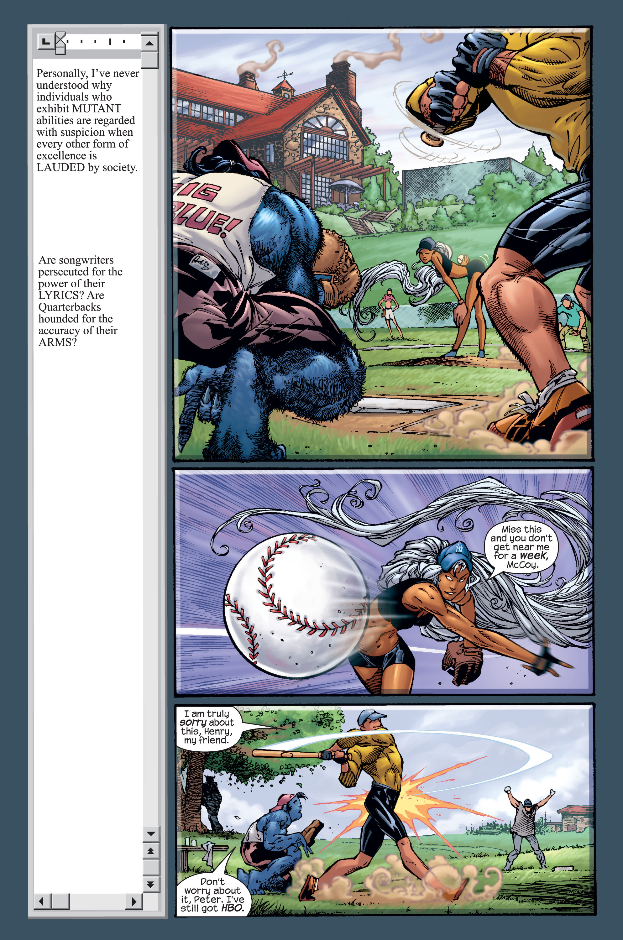 Read online Ultimate X-Men comic -  Issue #15 - 6