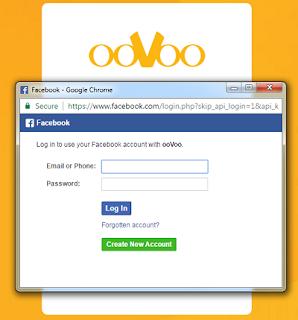 oovoo facebook login