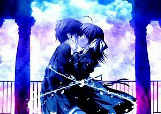 gambar anime ciuman