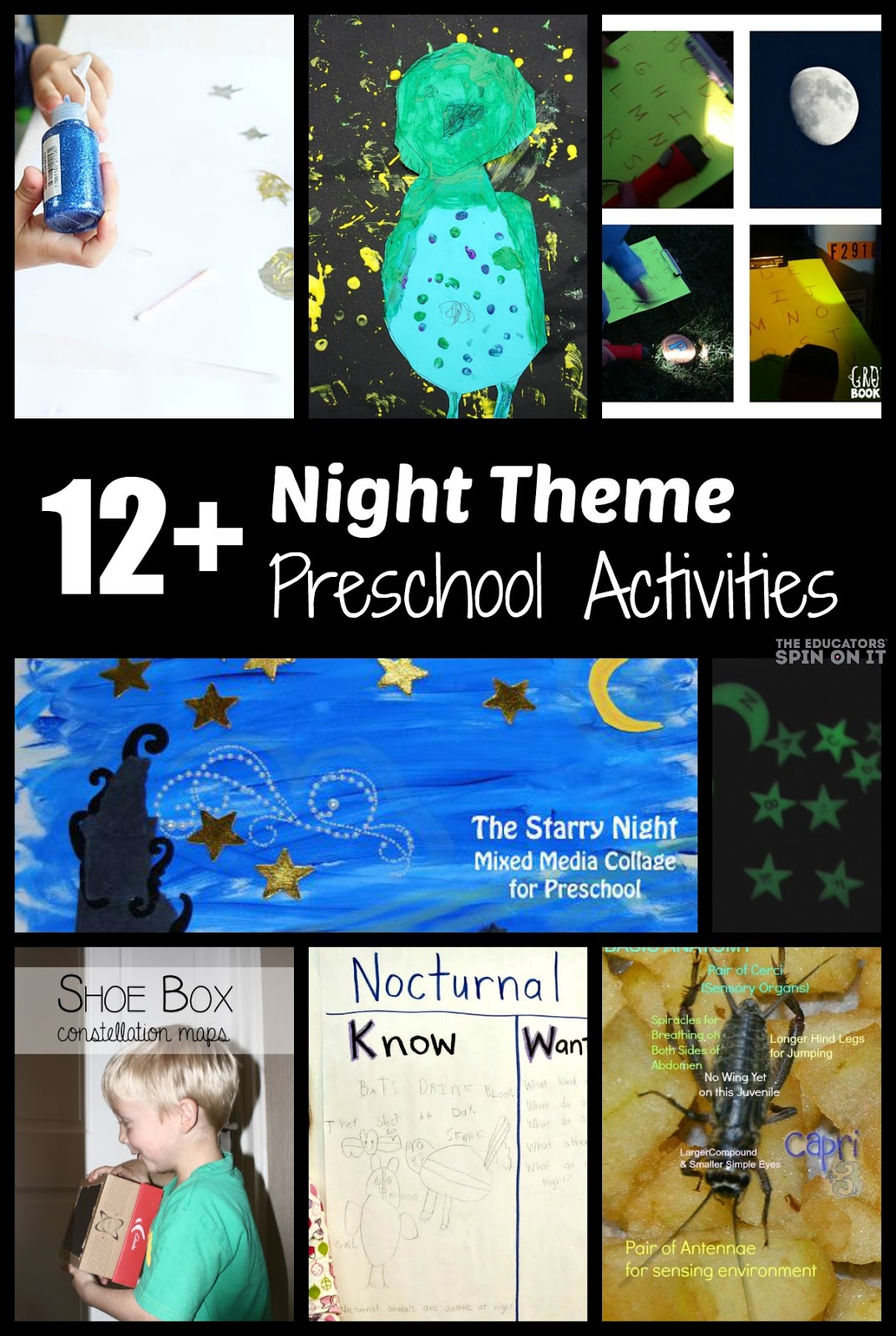 The Educators Spin On It Nighttime Preschool Activities