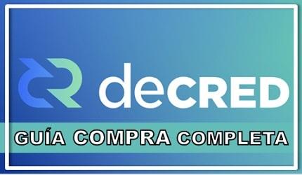 Comprar Decred (DCR) Guía Actualizada