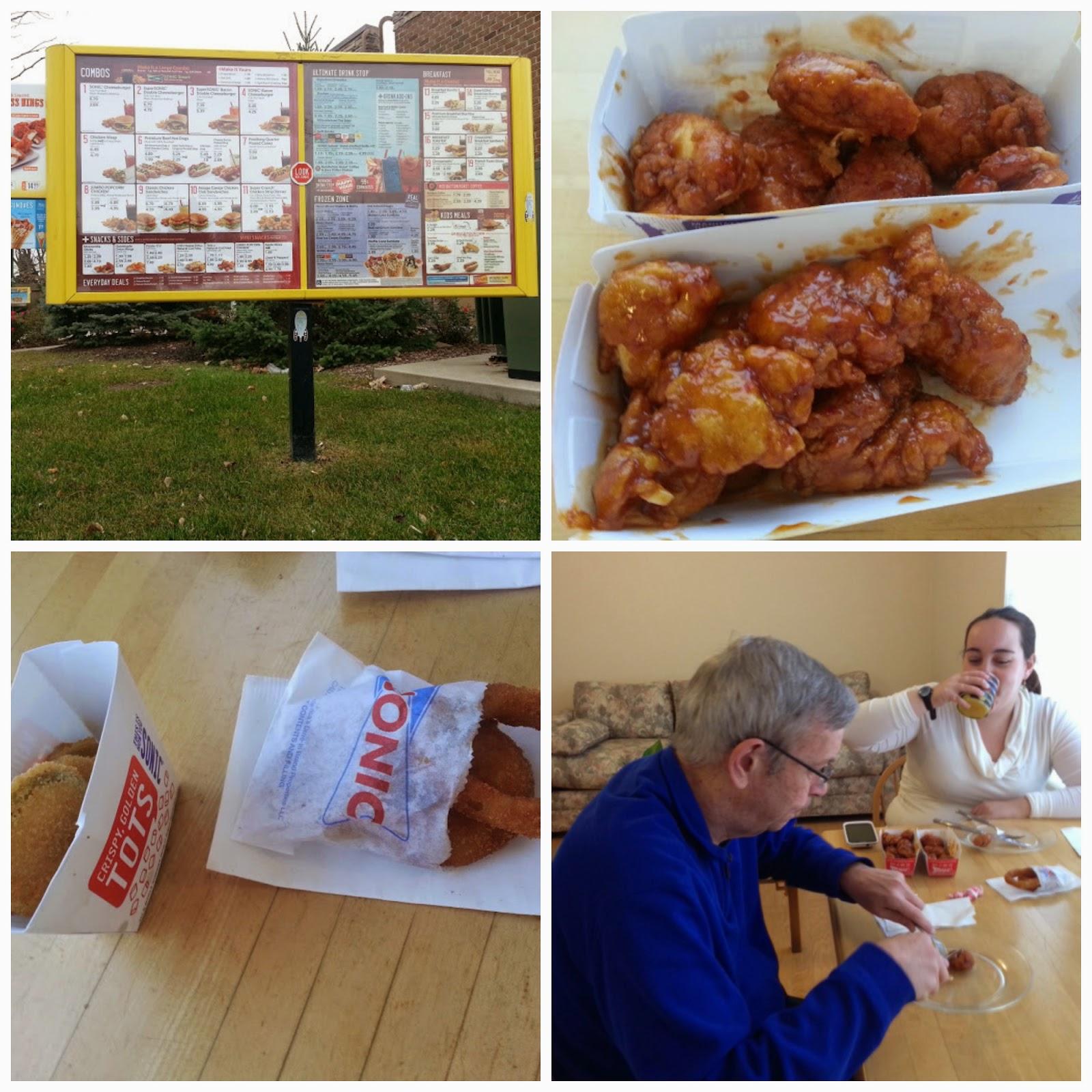 Yes No Foods Boneless Wings Taste Test Sonic Vs Buffalo Wild Wings
