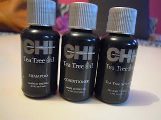 Recenzja kosmetyków CHI Tea Tree Oil - seria kosmetyków dla skóry problemowej z olejkiem z drzewa herbacianego
