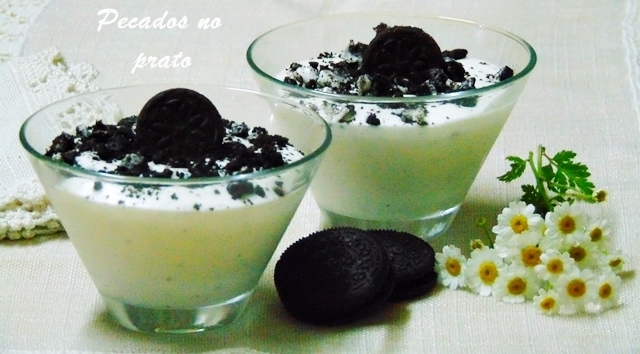 Mousse de Óreo simples e deliciosa