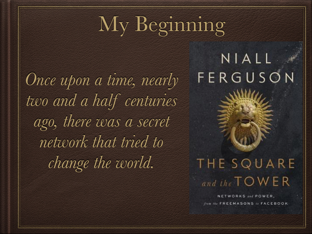the square and the tower networks and power from the freemasons to facebook