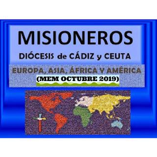 oremosXmisioneros, misioneros, MEM OCTUBRE 2019