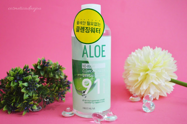 ARITAUM Aloe No Wash Cleansing Water 300ml review