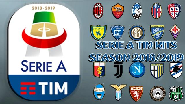 PES2013 new GDB Full Complete kits Série a tim season 18/19