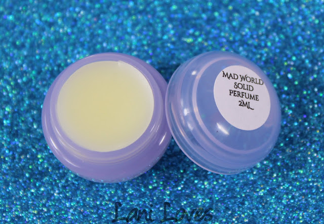 Notoriously Morbid March 2016 Vanishing Cabinet - Mad World Solid Perfume Review