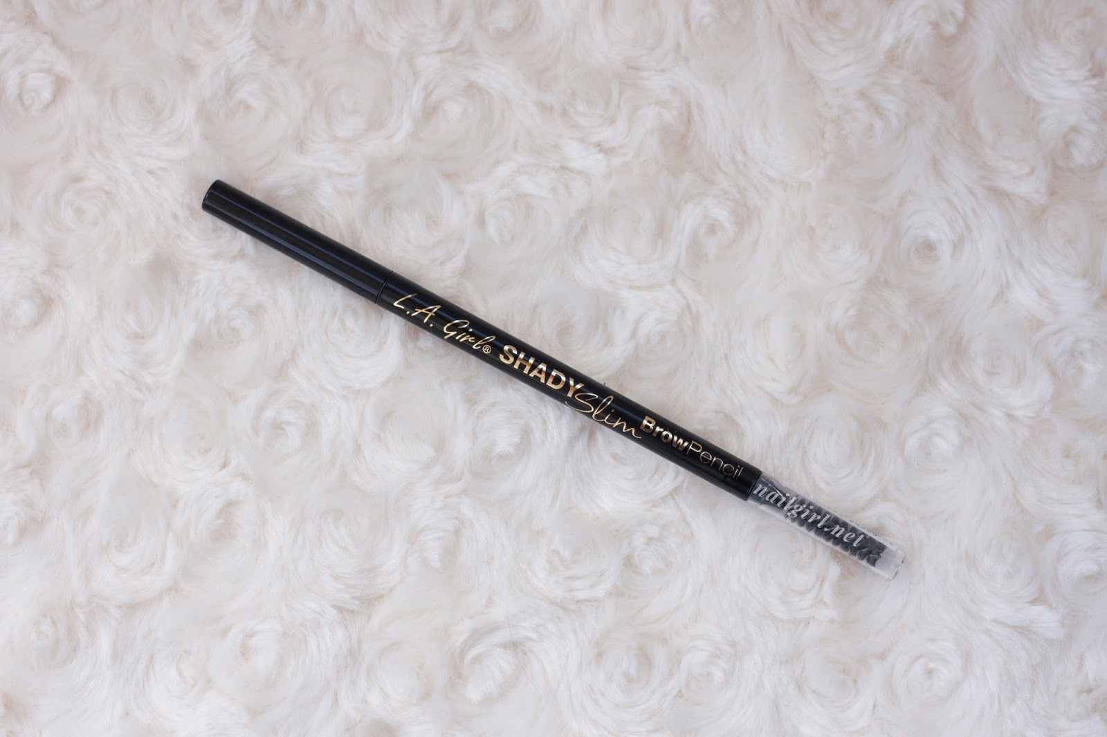 l.a. girl shady slim brow pencil review packaging