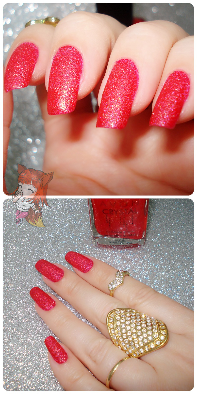 Esmalte Avon :: Vermelho Crystal - Resenha