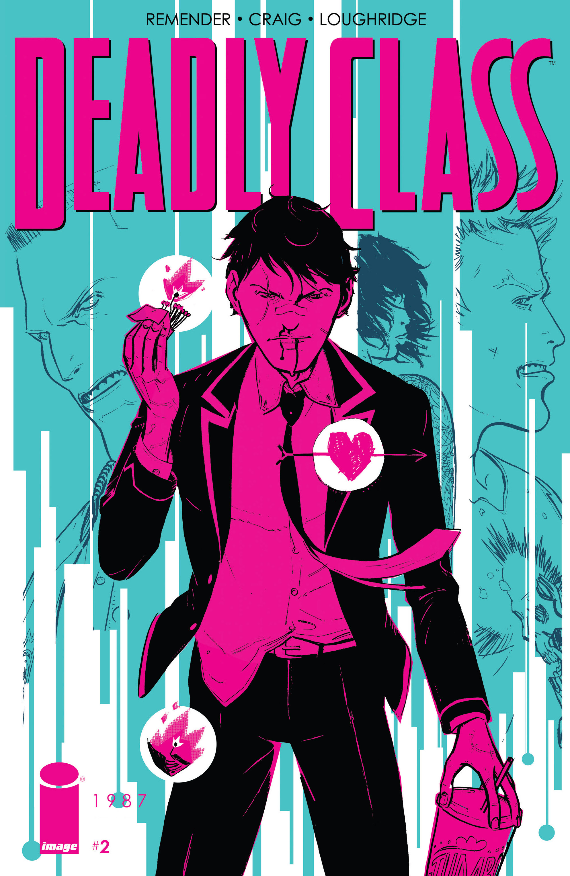 Read online Deadly Class comic -  Issue #2 - 1