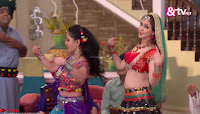 Soumya Tondon aka Bhabhiji in Beautiful Red Ghagra Choli ~  Exclusive Galleries 033.jpg