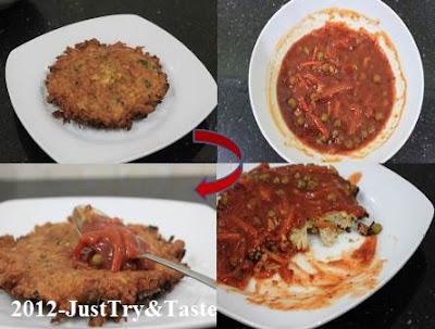 Resep Fu Yung Hai dengan Daging Ayam, Sawi dan Wortel