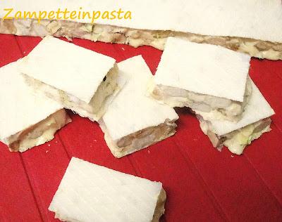 Torroncini alle mandorle e pistacchi - Torrone fatto in casa