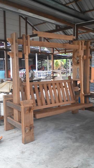 buaian kayu cengal