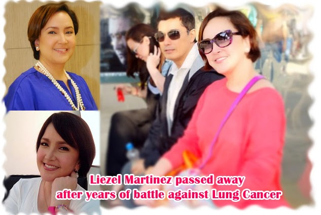 Spouse of Albert Martinez, Liezel Martinez passed away after years of battle against Lung Cancer