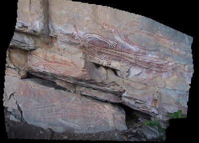 Laser technology captures Aboriginal rock art in Kakadu National Park