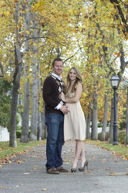 Engagement Session in Claremont, CA {Danielle Renee Photography}