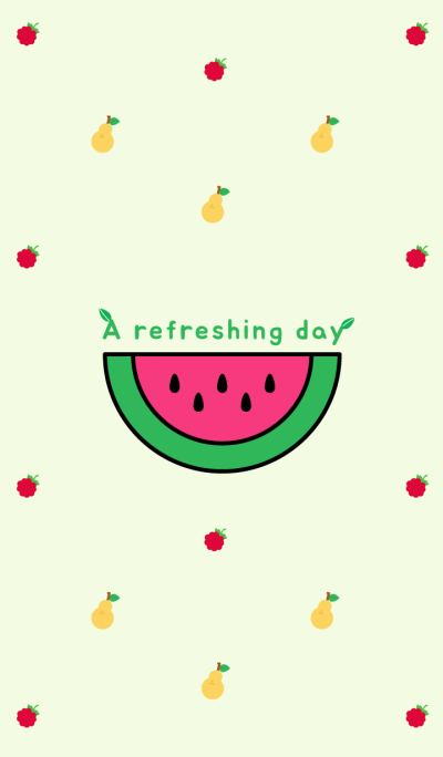 A refreshing day